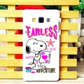 Cool Snoopy Matte Hard Back Housing For Samsung Galaxy A7 A7009 - Rose