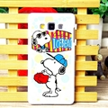 Fun Snoopy Matte Hard Back Shell For Samsung Galaxy A7 A7009 - Color